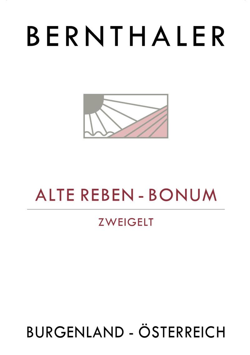 Bernthaler Bio Wein - Alte Reben Zweigelt Bonum