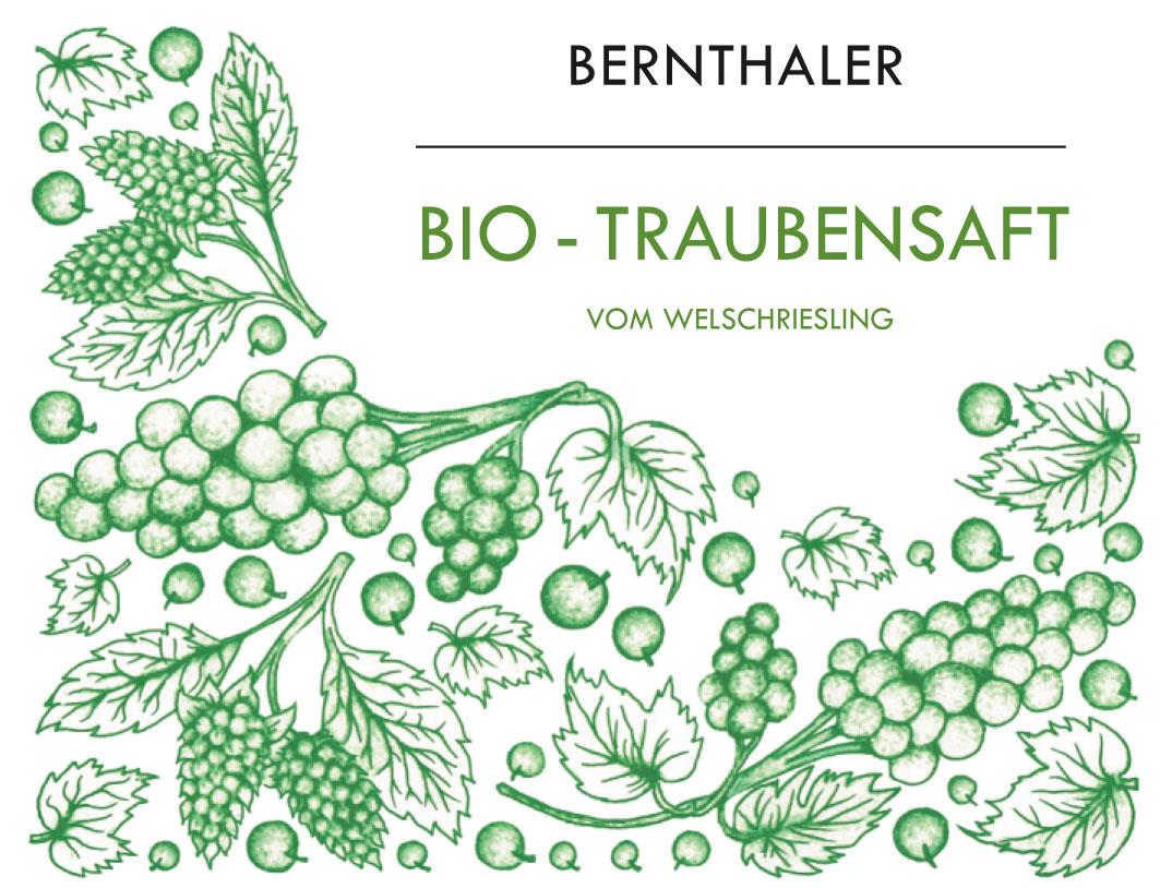 Bernthaler Bio Wein - Bio Traubensaft