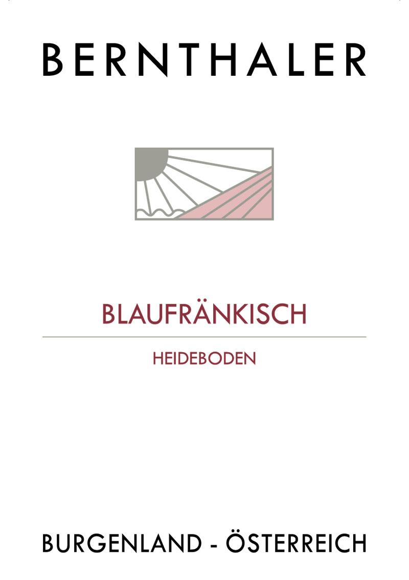 Bernthaler Bio Wein - Blaufränkisch Heideboden