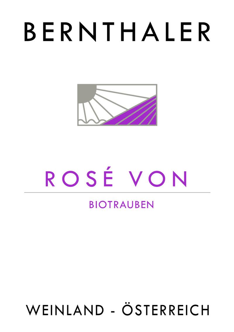 Bernthaler Bio Wein - Rose Alte Reben