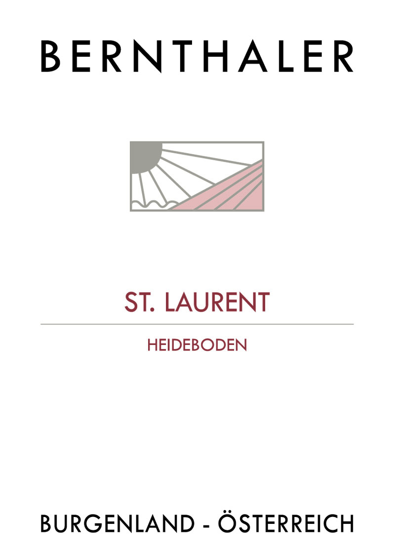 Bernthaler Bio Wein - Sankt Laurent Heideboden