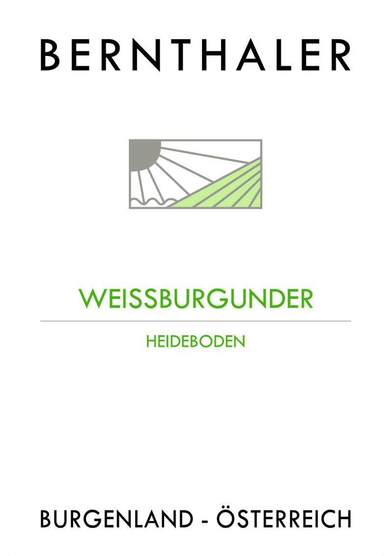 Bernthaler Bio Wein -Weißburgunder Heideboden