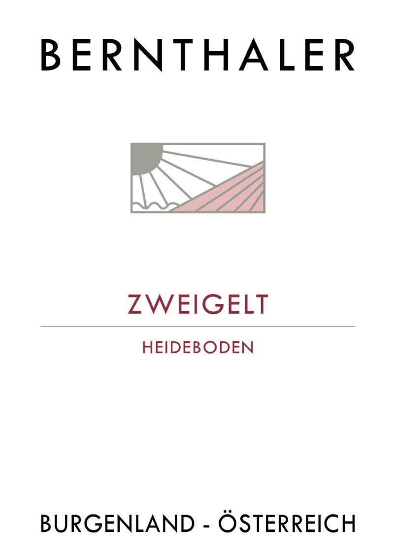 Bernthaler Bio Wein - Zweigelt Heideboden