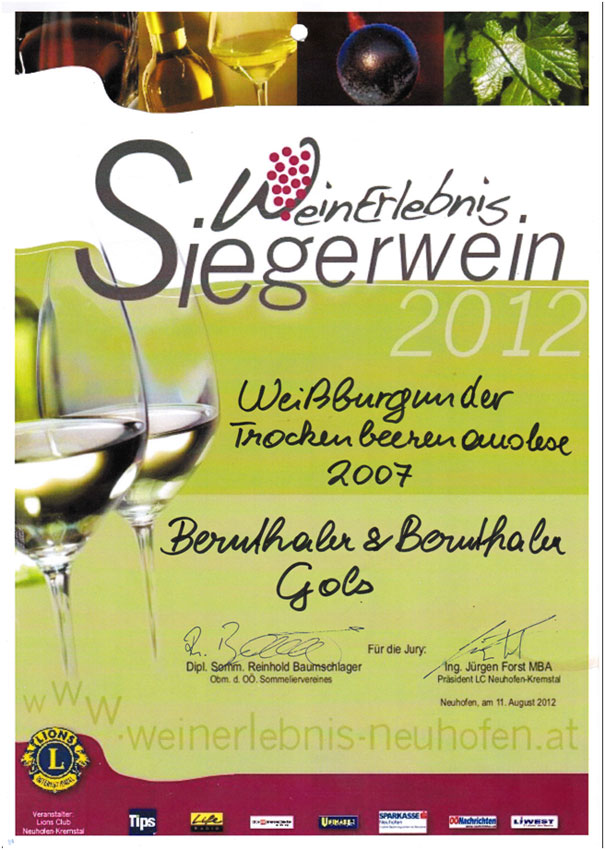 Weinpreis-Neuhofen